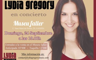Concert Lydia Gregory