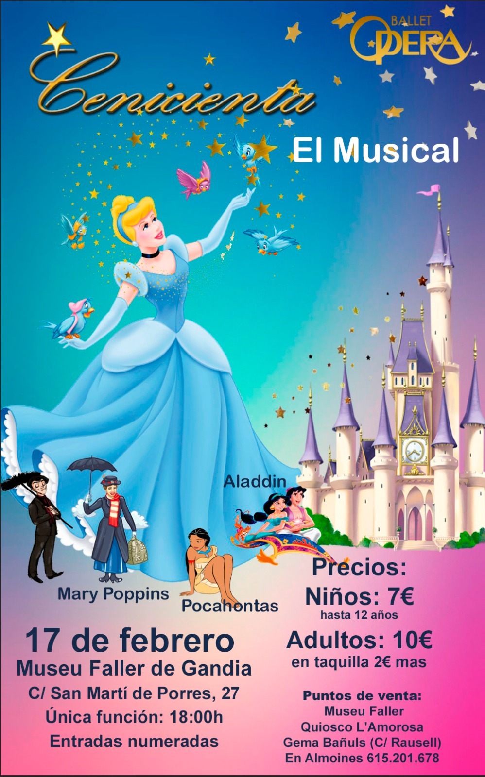 MUSICAL CENICIENTA